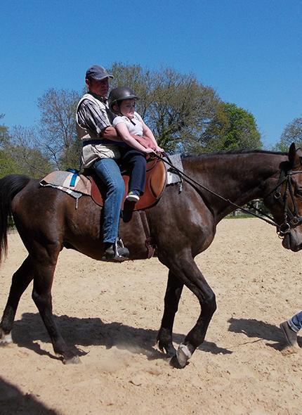 Equi Handi équitation handicapées, Caen